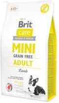 Brit Care mini grain free adult lamb 2 kg