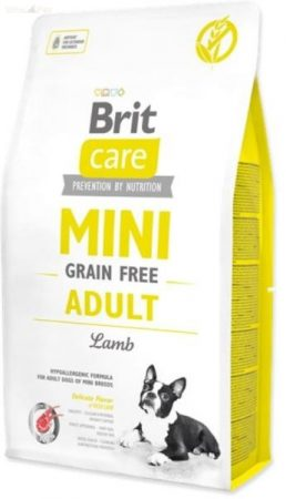 Brit Care mini grain free adult lamb 7 kg