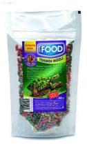 AQUA-FOOD ékszerteknőstáp (teki müzli) 400 ml-80 g