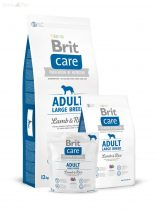 Brit Care bárány+rizs Adult large breed 3 kg
