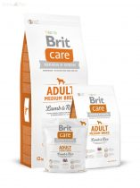 Brit Care bárány+rizs Adult medium 3 kg