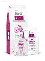 Brit Care bárány+rizs Junior large breed 3 kg