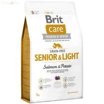 Brit Care gabona mentes hal+burgonya Senior 12 kg