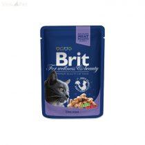 Brit Premium Cat 100 g alutasakos tőkehalas