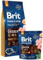 Brit Premium by Nature Adult Medium 15 kg