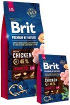 Brit Premium by Nature Senior L-XL 15 kg