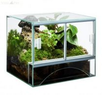 Diversa üveg terrárium 40x30x30 cm