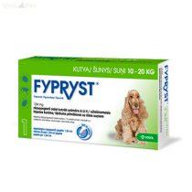 Fypryst Bolha-kullancs csepp kutyának (spot-on 1,34 ml  10-20 kg-ig) 3 db pipetta