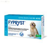 Fypryst Bolha-kullancs csepp kutyának (spot-on 2,68 ml  20-40 kg-ig) 10 db pipetta