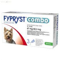 Fypryst Combo kutyáknak (0,67ml 2-10kg) 1db