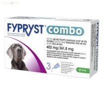 Fypryst Combo kutyáknak (4,02ml 40kg felett) 3db