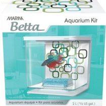 HAGEN betta kit akvárium 2 lit.  Geo Bubbles