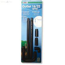 JBL Out-Set spray 12/16 CP e700/1-900/1 nyomó oldali esőztető szet