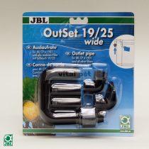 JBL OutSet wide -   széles vízkimenet-készlet széles terelőelemmel külső szűrőkhöz 19/25 CP e1901