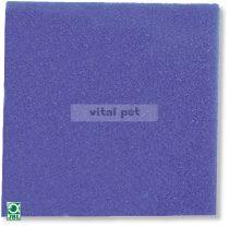 JBL szűrőszivacs, kék, ritka 50x50x2,5cm