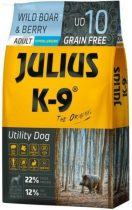 JULIUS K-9 10 kg adult wild boar&berry (UD10)