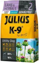 JULIUS K-9 10 kg puppy&junior lamb&herbals (UD2)