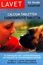 LAVET kutya csonterősítő (calcium) tabletta