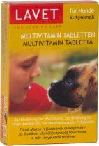 LAVET kutya multivitamin tabletta