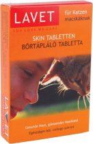 LAVET macska bőrtápláló tabletta