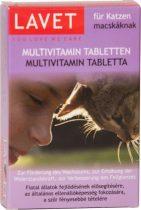 LAVET tabletta cica multivitamin