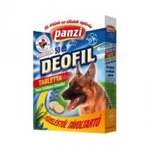 Panzi Deofil Dog tabletta 50 db-os