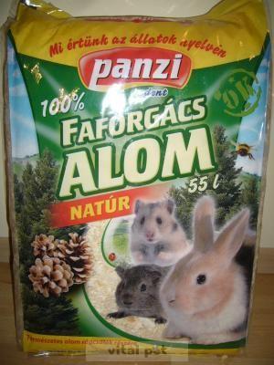 Panzi Todi préselt faforgács 55 l