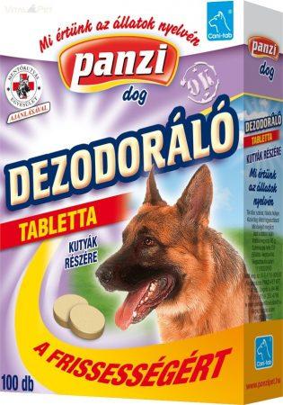 Panzi - Cani-tab kutya vitamin 100 db-os dezodoráló