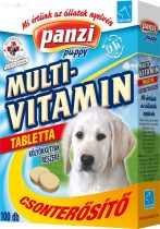 Panzi - Cani-tab kutya vitamin 100 db-os puppy multivitamin