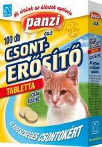 Panzi - Feli-tab cica vitamin 100 db-os csonterősítő