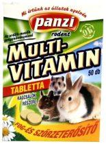 Panzi - Multi-vitamin tabletta 50 db-os rágcsálók részére