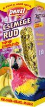 Panzi csemege dupla rúd 135 g óriás papagáj trópusi gyümölcsös