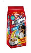 Panzi regular 10 kg száraz kutyatáp marhás