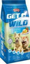 Panzi GetWild 15 kg Puppy sensitive (bárány&hal+alma)