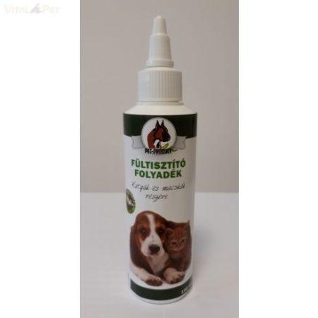 Pet  Product fültisztító folyadék kutya-macska 100 ml