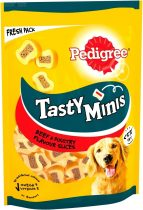 Pedigree Tasty Bites 155g Chewy Slices puha töltött nagytestűekne