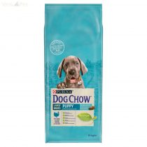 Dog Chow Junior Large Breed Pulykával 14kg
