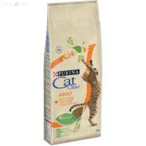 Cat Chow  Adult  Csirkével és Pulykával 15kg