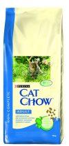 Cat Chow  Adult Lazaccal és Tonhallal 15kg