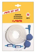 """SERA Air set """"M"""" (4m légvez.,2db vissza.szelep,2db porlasztókő)"""