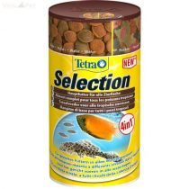 Tetra Selection 250 ml 4in1 flakes/crisps/granulat/wafer