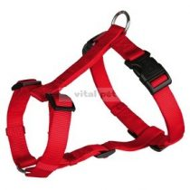 TRIXIE Classic textil hám piros L-XL 2,5/75-100cm