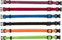 TRIXIE textil jelölő nyakörv szett 6 db-os M-L