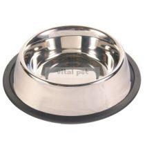 TRIXIE fémtál gumis (0,7 l)