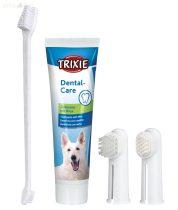 TRIXIE kutyafogkrém-fogkefe szett