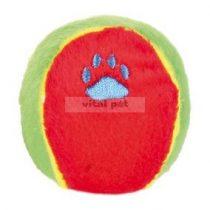 TRIXIE kutyajáték sípolós plüss labda 6 cm