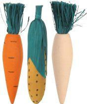 TRIXIE fa fogkoptató zöldség forma 3db-os
