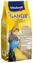 Vitakraft SANDY madárhomok 2,5 kg (zacskós) hullámos - pinty - kanári