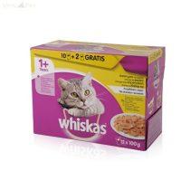 Whiskas 12 pack alutasakos adult szárnyas