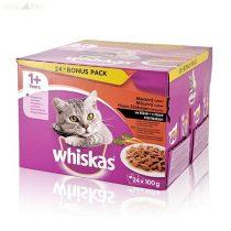 Whiskas 24 pack alutasakos húsos-zöldséges